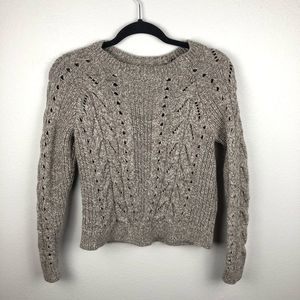 Lucky Brand cotton/wool knitted sweater